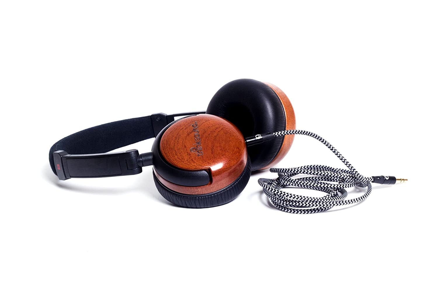 Thinksound On1 Natblk Supra Aural On Ear Monitor Wooden Bri Bang Ampamp Olufsen Beoplay H6 Premium Over Headphones 2nd Gen Natural Headphone Black Home Audio Theater