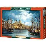 Castorland - C-300167-2 - Puzzle - Une Nouvelle Journée au Port - 3000 Pièces