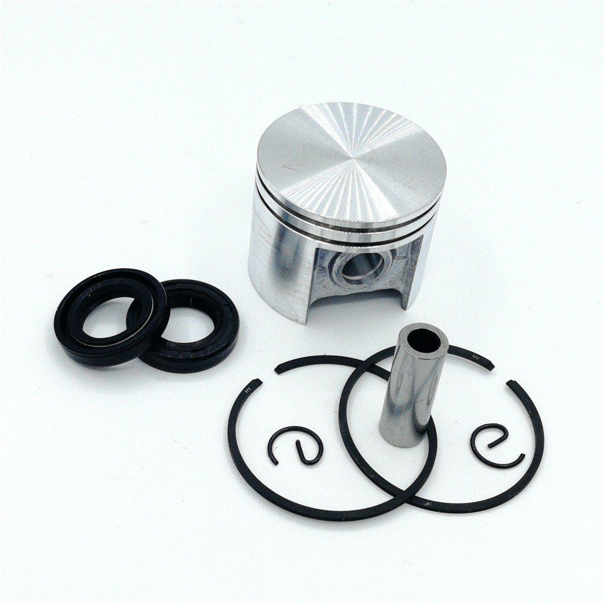 Shioshen 42,5mm aro del pist/ón Kit de sello de aceite para STIHL MS250 025 Motor piezas de la motosierra