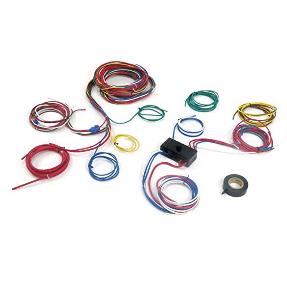 71TVBMHe8RL._SY587_ amazon com keep it clean wiring accessories 9466 kic 1062666 dune Car Fuse Box Wiring at bayanpartner.co