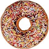 Nouveau style Doughnut Coussin en forme, anneau doux en peluche Novelty style Oreiller (Mulyicolore B)