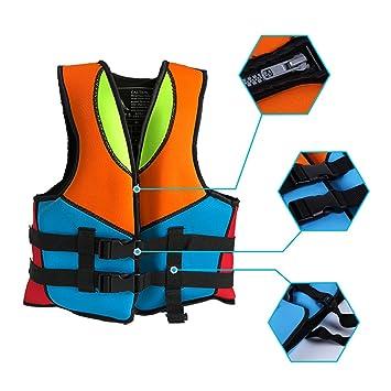 Supfirefly - Chaleco de Neopreno para niños con diseño de flotadores de Piscina, para Flotar, X-Large: Amazon.es: Deportes y aire libre