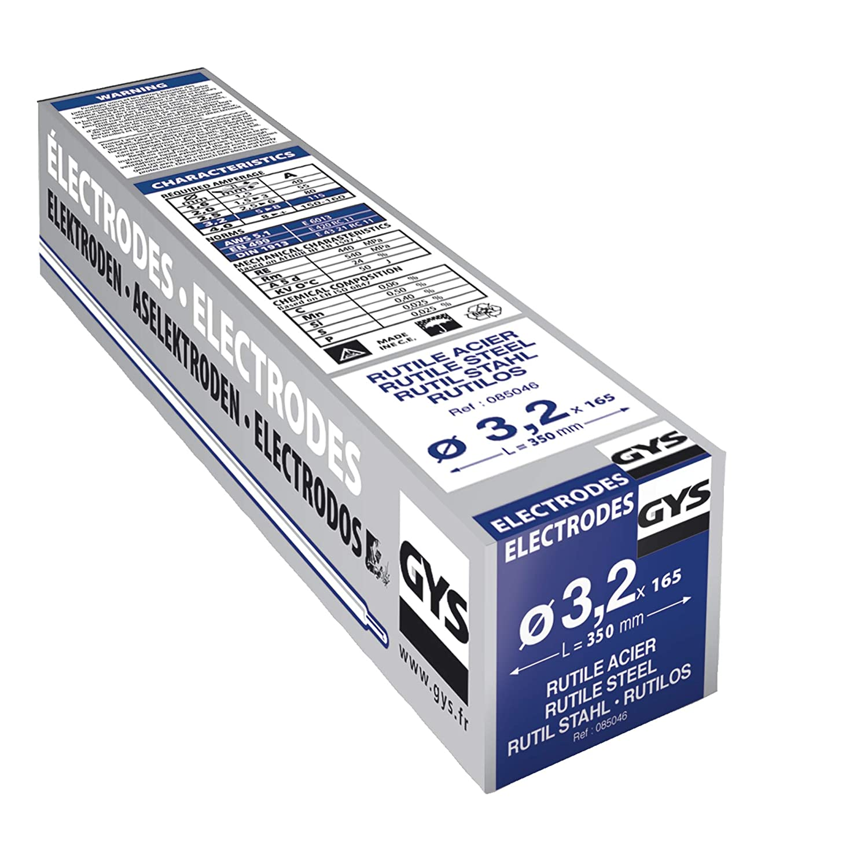 3,2 x 350 mm Elektroden Gro/ßbox f/ür Stahl 165 St/ück Stabelektrode