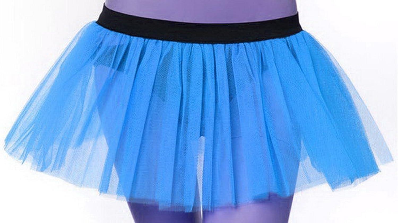Light Turquoise netting Tutu Skirt Hen Night//Party 6//16