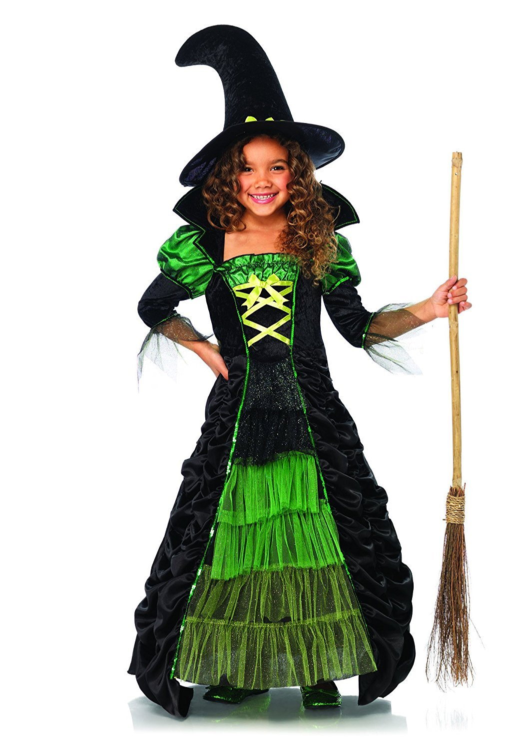 Amazon.com: Leg Avenue Children's Storybook Witch Costume: Toys ...