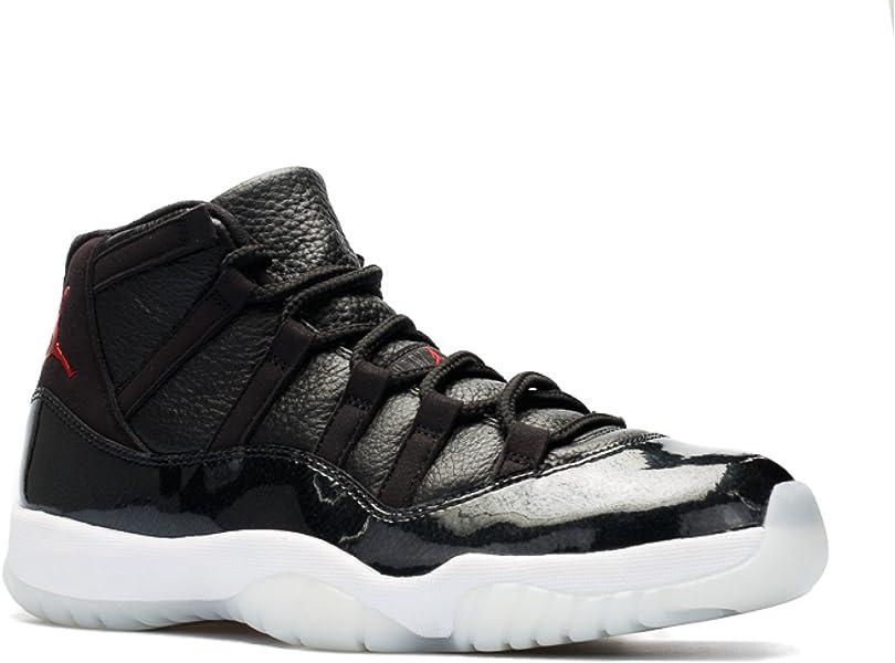 new styles fd538 cc14e Nike Herren Air Jordan 11 Retro Turnschuhe, (Schwarz Gym Rot-Weiß-