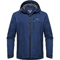 550187cd Outdoor Ventures Men's Lake Waterproof Raincoat Windbreaker Lightweight  Packable Rain Jacket