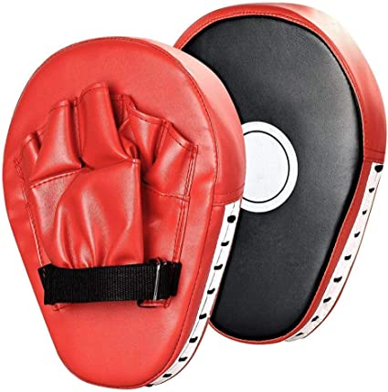 BOXING MARTIAL ARTS MMA PUNCH MITTS PUNCHING MUAY THAI PADS TARGET HAND KICK UFC