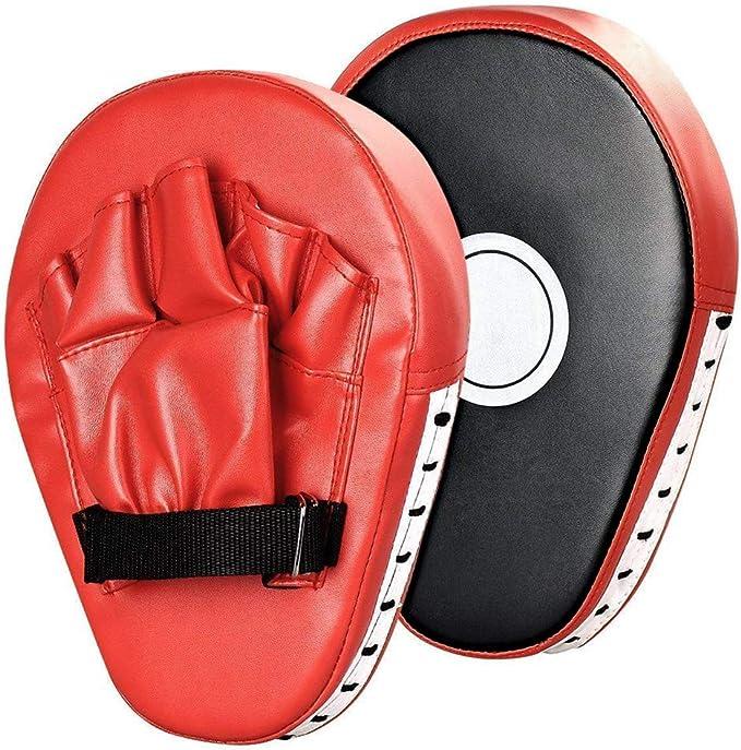 SANON Punch Mitts Shock Lightweight Boxing Target Training Pad Glove Mitt Pads for Muay Thai MMA Combat Taekwondo Sanda Fight Training