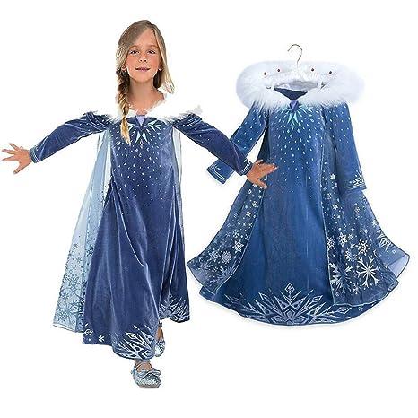eb463fb4476d7 ヘイトライ)heytr 子供用 ハロウィン仮装 子供ドレス アナと雪の女王 コスチューム
