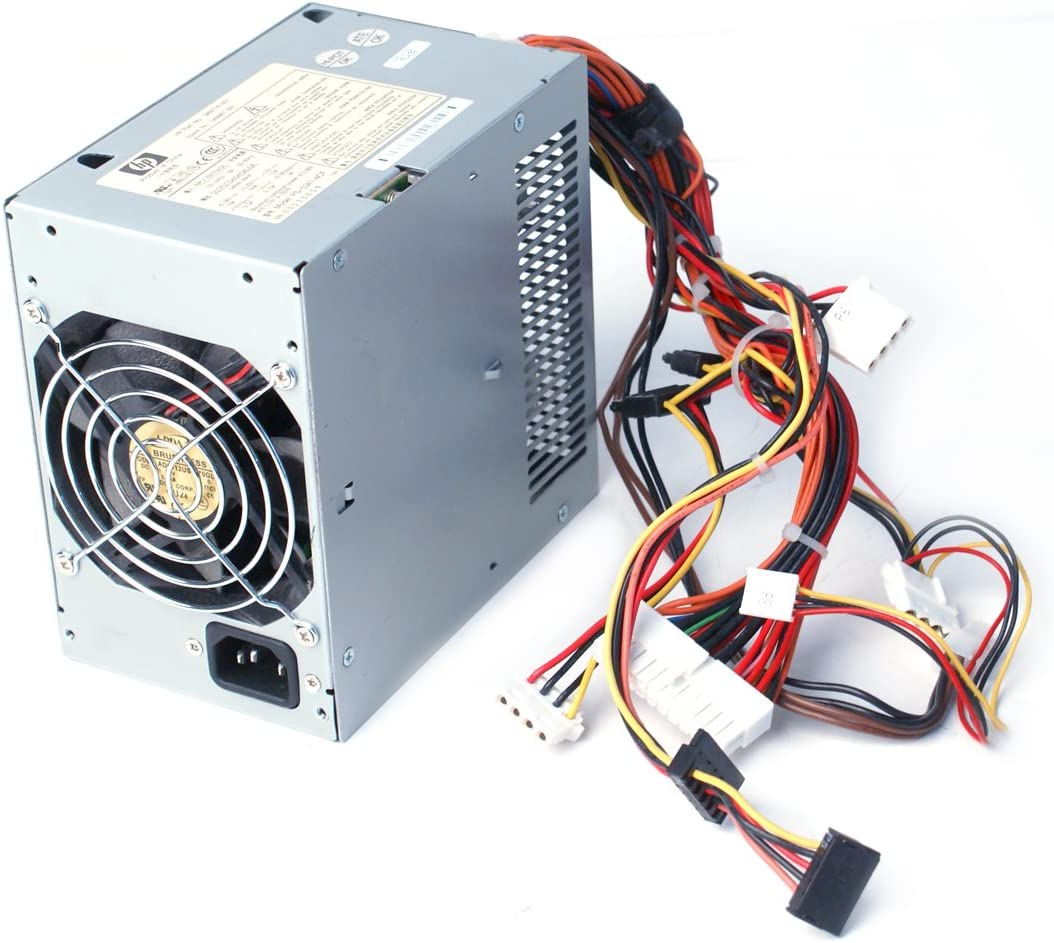 Genuine HP/Compaq 340W 349774-001 Power Supply PSU For HP Business DC7100 Convertible Minitower, Business DX6120 Microtower, Business DX6100 Microtower Compatible Part Numbers: 349774-001, 349987-001 Model Numbers: PS-5341-4CF