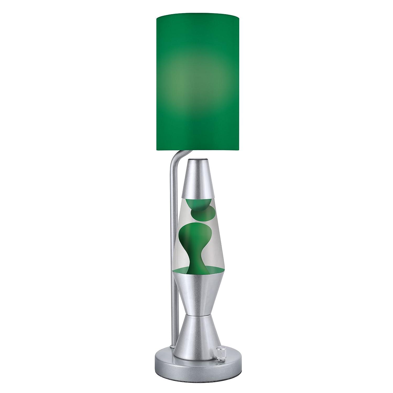 Lava Lite 3109 Lava Plus Table Lamp, Green, Table Lamps   Amazon Canada