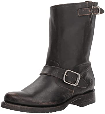 54c49a4575bf FRYE Women s Veronica Short Ankle Boot Black 5.5 ...