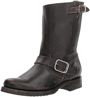 4f053635762 Amazon.com | FRYE Women's Veronica Short Boot | Mid-Calf
