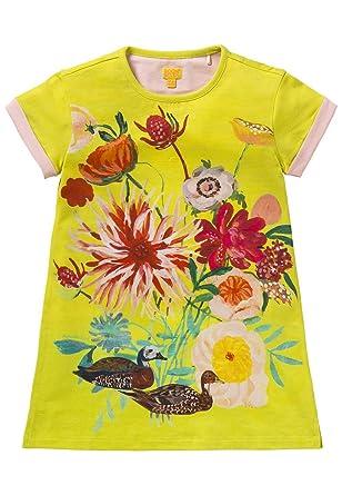 Robe Fille Tatou Imprime Duck Design Natalie Lete Amazon Fr