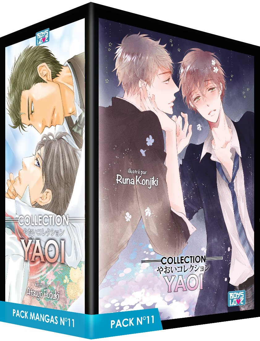 Collection Yaoi Pack N° 11 : 5 mangas (Boys love): Amazon.es ...
