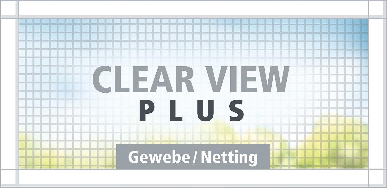 1m:1,2m tesa/® Fliegengitter ALU Comfort Fenster anthrazit