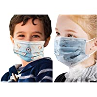 Boys and Girls Breathable Dust Mask 4-8 years Old Air Breathable Children Dinosaur Print Cute trendy Back to school