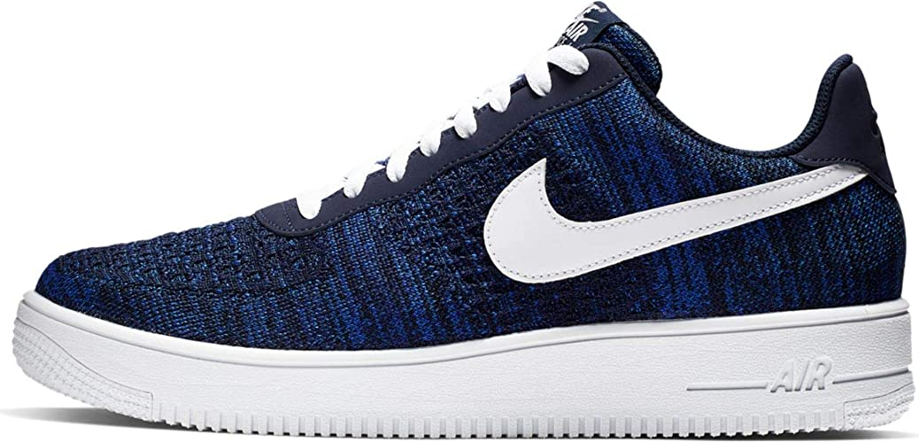 Nike Air Force 1 Flyknit 2.0 - College Navy/White-Obsidian ...