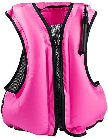 Rrtizan Adulte Unisexe Portable Gonflable Tuba Gilet pour la plongée en  Toute sécurité, Convient pour e75082f00023