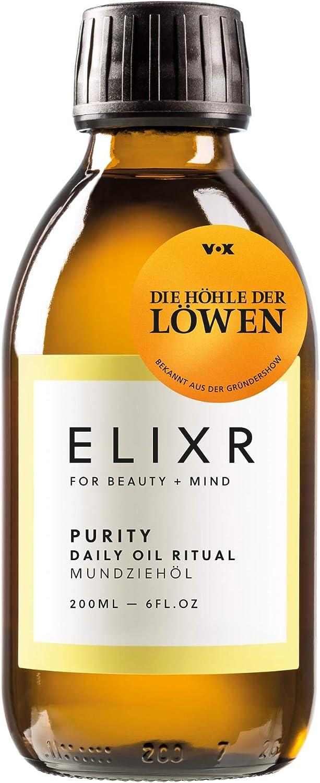 ELIXR HARMONY   Ayurvedisches Mundziehöl mit Zitronen- und Lemongrasöl