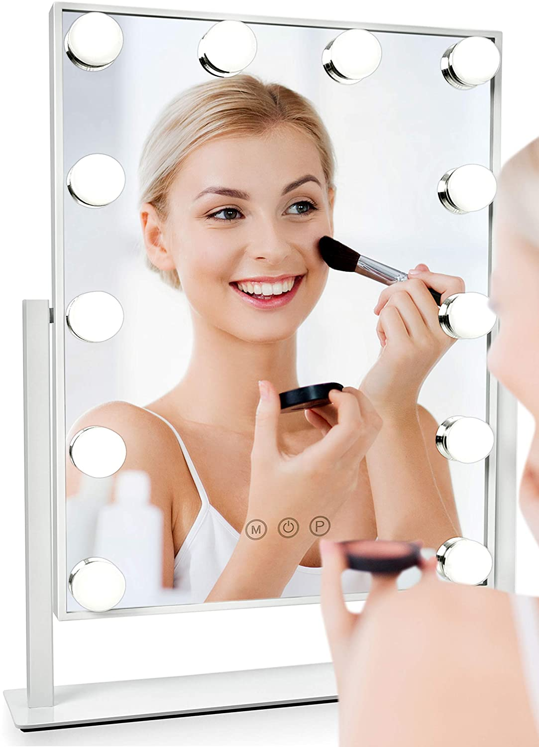 Albor Makeup Vanity Mirror with Lights - Lighted Makeup Mirror with Lights Mirrors Led Mirror Makeup Light Lighted Mirror Vanity Lights Makeup Vanity with Lights Vanity Light Led Vanity Mirror