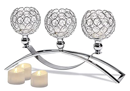 Home & Garden Diy Crystal Glass Candle Holder Candlestick Romantic Wedding Dinner Home Decor 2019 Newest