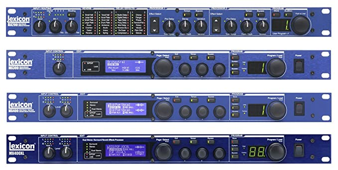 lexicon mx series mx300 stereo reverb effects processor 100 120 vac rh amazon in Lexicon MX300 Review MX300 Specs