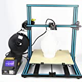 "CR-10 3D Printer 19.68"" x 19.68"" x 19.68"" DIY Desktop Kits 0.1mm Max 200mm/s Industrial Grade PLA Self-assembly LCD On/Off-Line FDM Desktop DIY Education Artistic Design Blue"