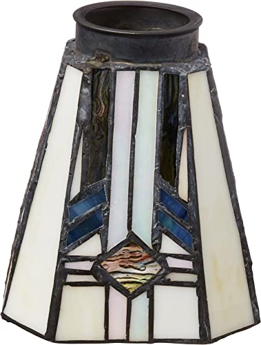 Westinghouse 8112100 2-1 4 Square Tiffany Lamp Shade
