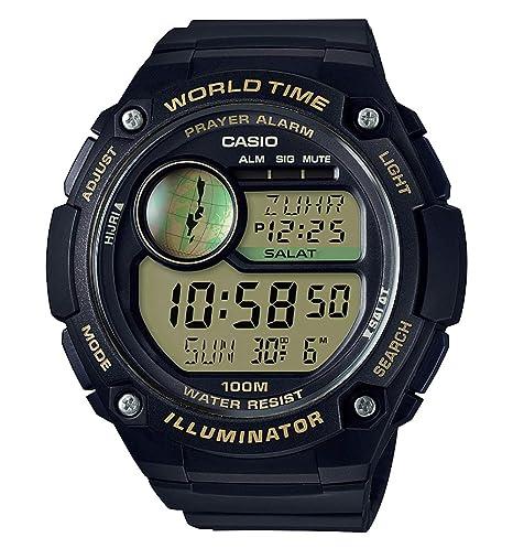 Casio Reloj Digital para Hombre de Cuarzo con Correa en Resina CPA-100-9AVEF: Amazon.es: Relojes