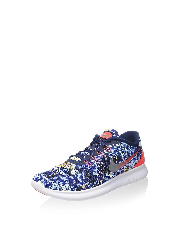 Nike Herren Free Rn Rf Sneakers, MehrfarbigSilber, 42,5 EU