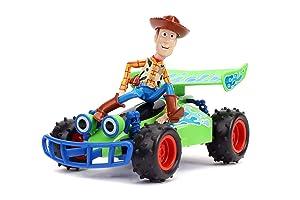 Disney Pixar Toy Story 4 Turbo Buggy W/Woody Radio Control Vehicle, 2.4 Ghz, 1: 24 (Color: Multi)