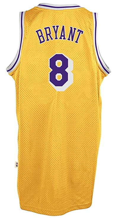 6499bd07637 Amazon.com   adidas Kobe Bryant Los Angeles Lakers Gold Throwback Swingman  Jersey   Clothing
