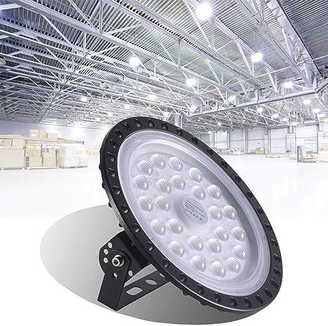 100W UFO LED High Bay Lights fixture Warehouse IP65 Lamp factory shop lighting