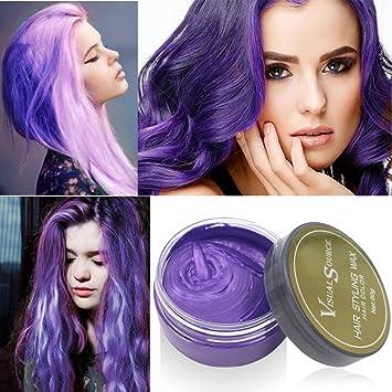 ROPALIA Coloured Hair Wax Temporary Hair Dye Cream DIY Hair Care ...