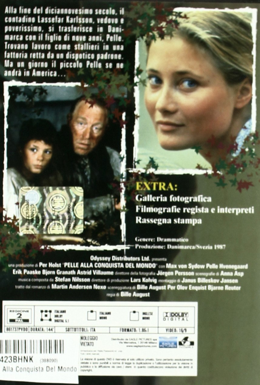 Amazon.com: Pelle Alla Conquista Del Mondo: astrid villaume, max von sydow, bille august: Movies & TV