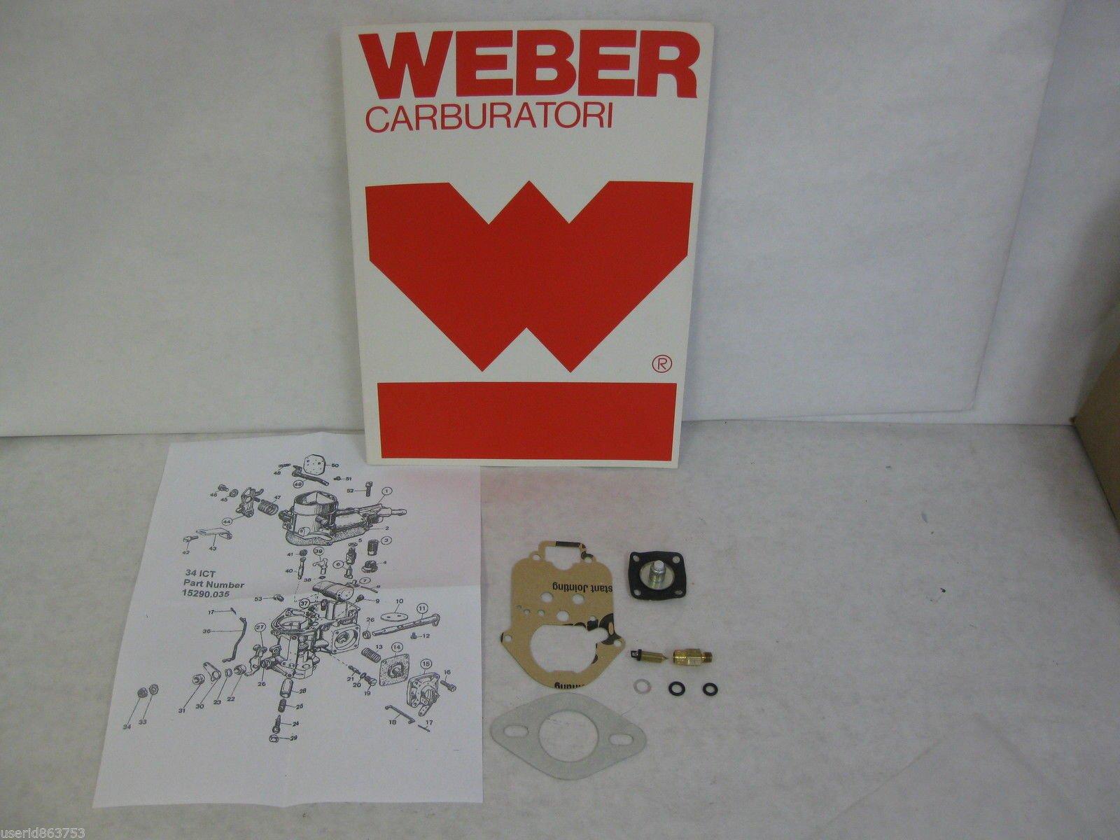 WEBER 34 ICT WEBER 34 ICH REBUILDING REPAIR KIT 92.3213.05