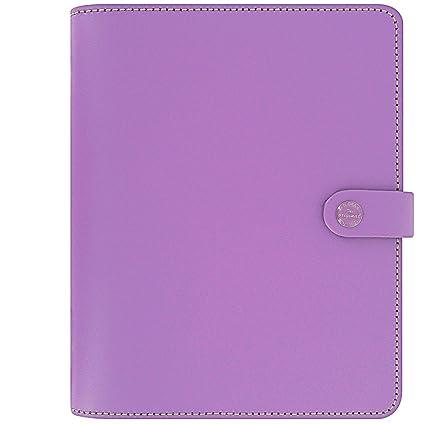 Amazon.com : Filofax The Original A5 Lilac Organizer ...