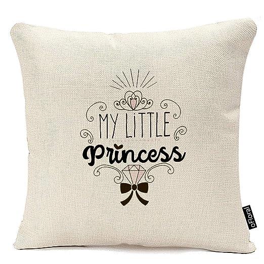 Fundas de Almohada Decorativas Throw Little Princess Theme ...