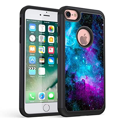 Amazon.com: iPhone 7 Caso, iPhone 8 Case, Rossy Galaxy ...