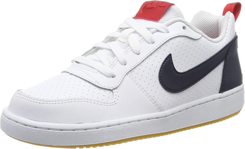 Nike Court Borough Low (GS), Chaussures de Basketball garçon