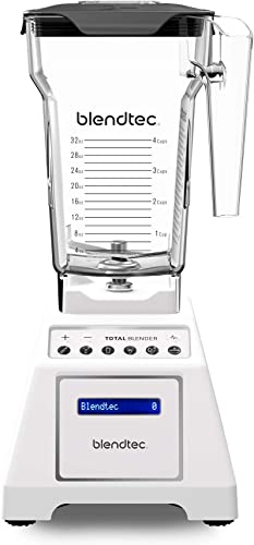 5. Blendtec Total Classic Original Blender Professional Grade Power 10 Speeds- Easy Blending Cycles