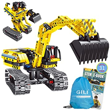 Amazon Com Gili Building Sets For 7 8 9 10 Year Old Boys Girls