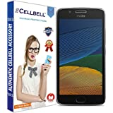 CELLBELL® Tempered Glass Screen Protector For Motorola Moto G5 (5.0 Inch) With FREE Installation Kit