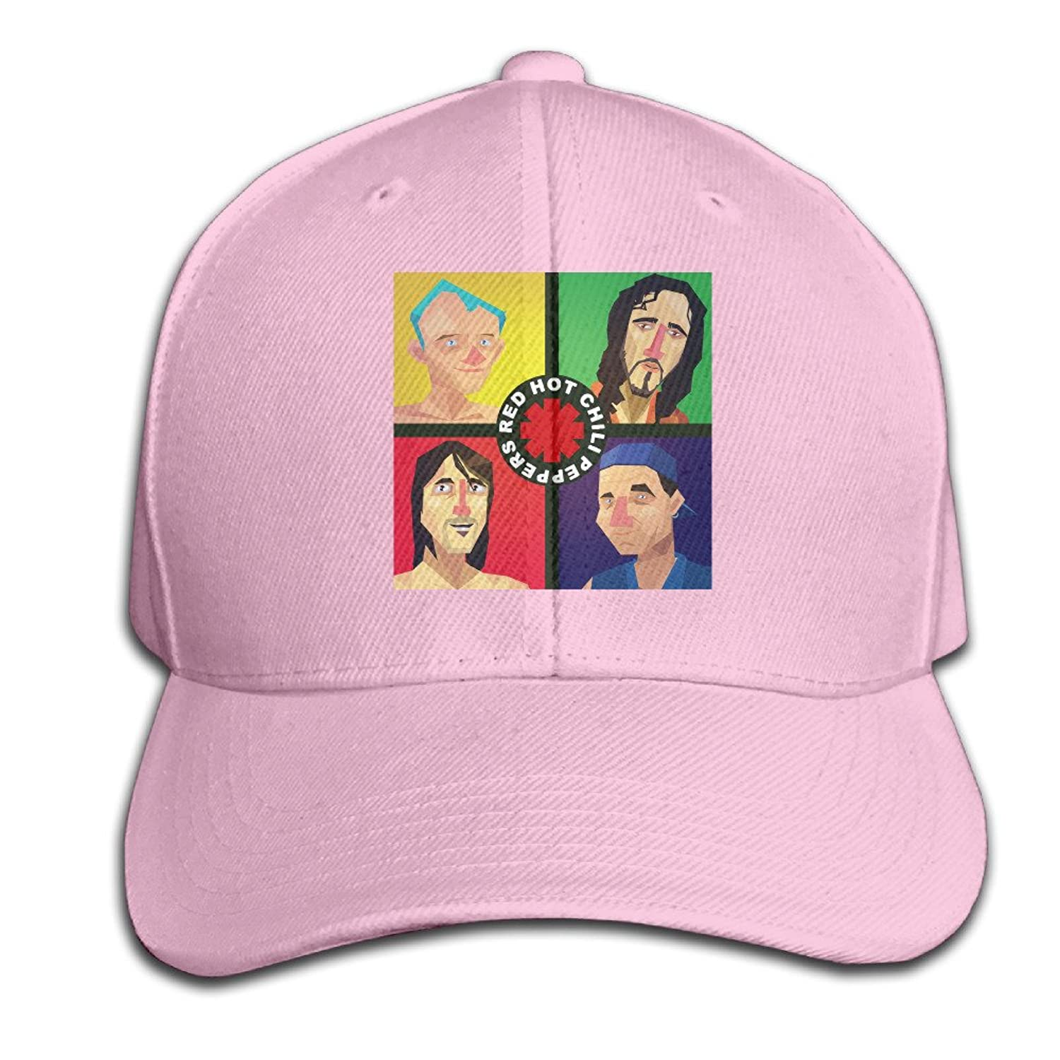 AGMPO Unisex Red Hot Chili Peppers Peaked Baseball Cap Hats