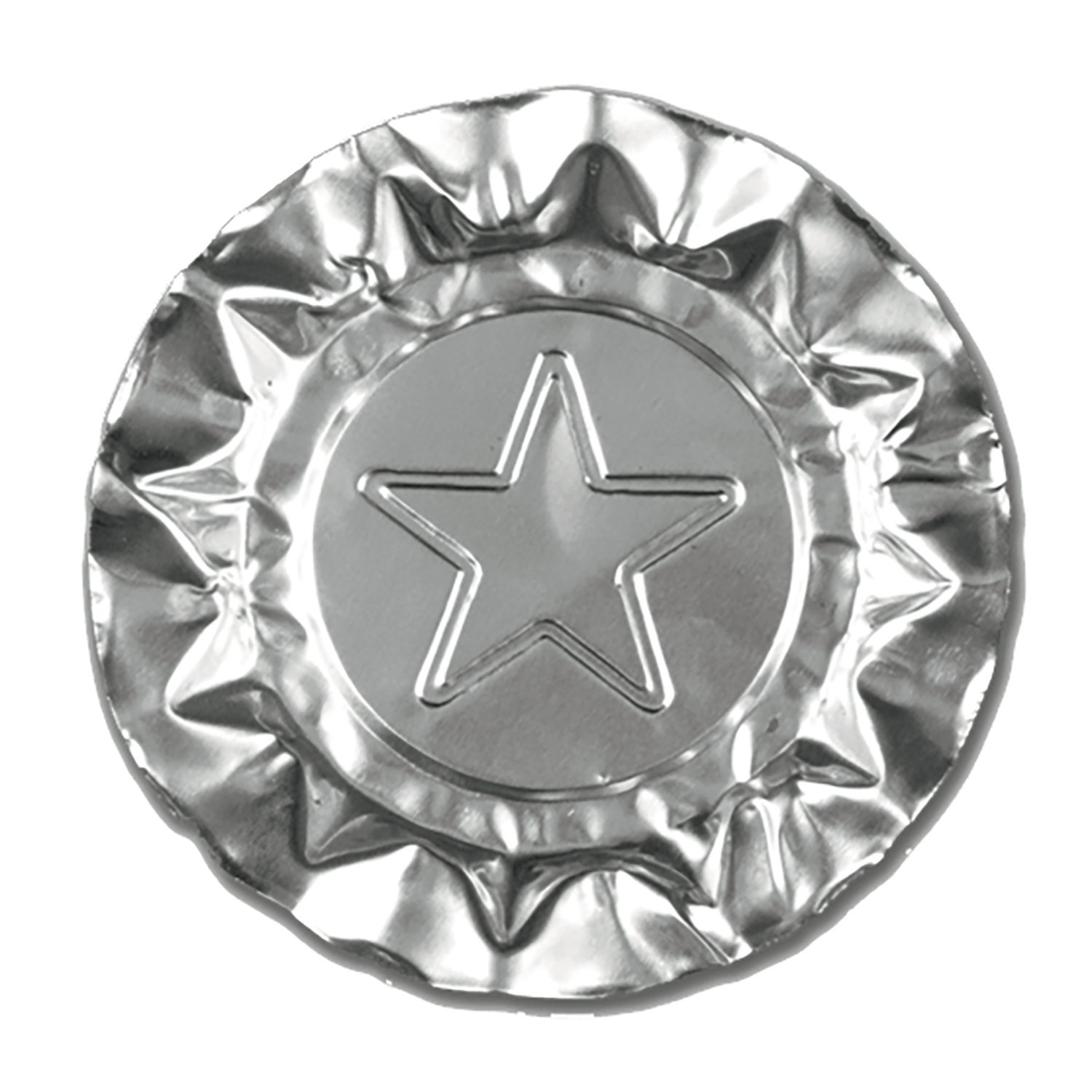 Royal Silver Star Aluminum Ashtrays, Package of 1000 by Royal