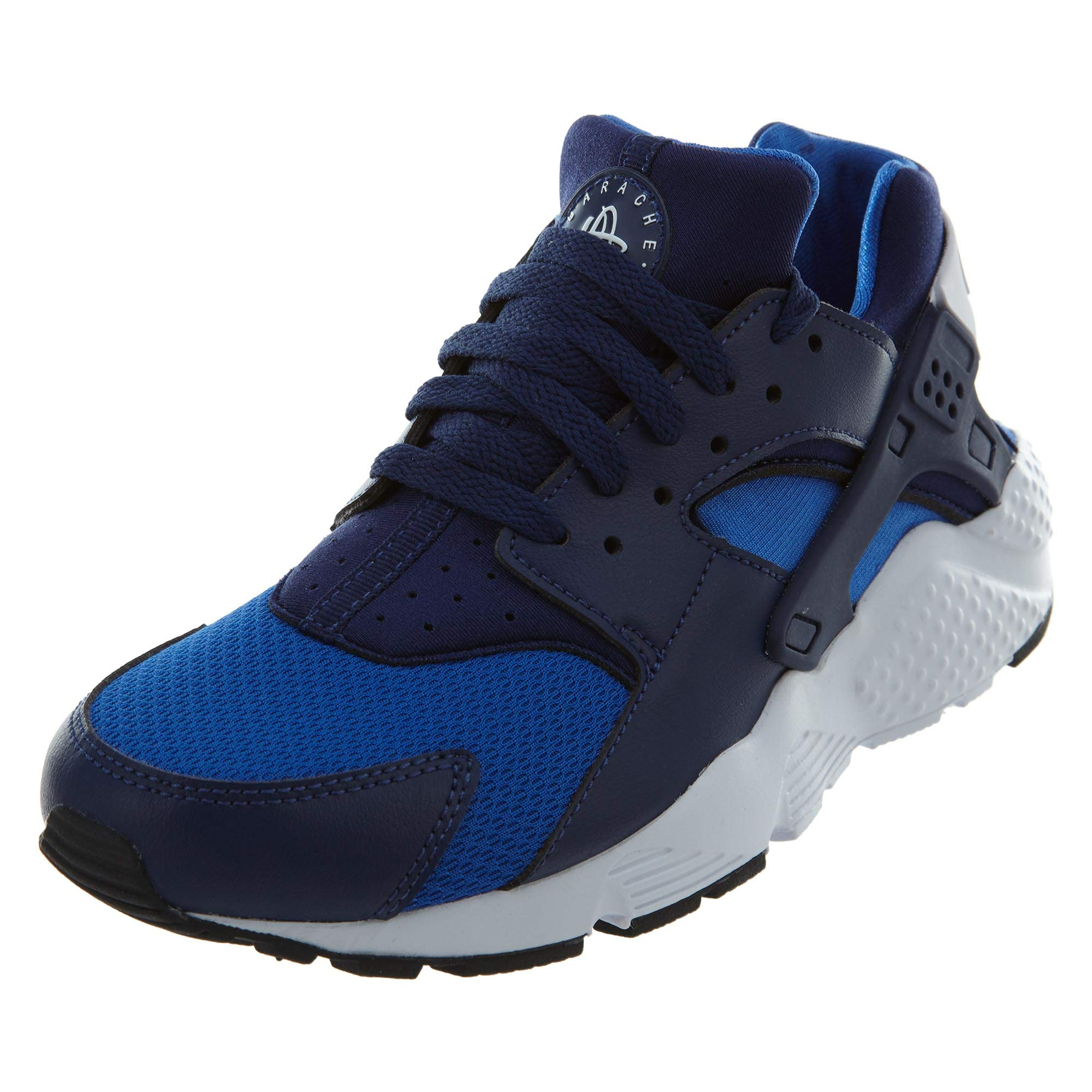 innovative design bca88 f2e75 Galleon - Nike Kids Huarache Run Gs Fashion Sneakers (4.5)