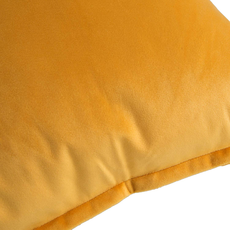 Bedsure Fundas de Coj/ín Decorativas Azul Marino Terciopelo Cuadradas Fundas de Almohada para Sof/á Dormitorio Coche Pulgada 40 x 40 cm