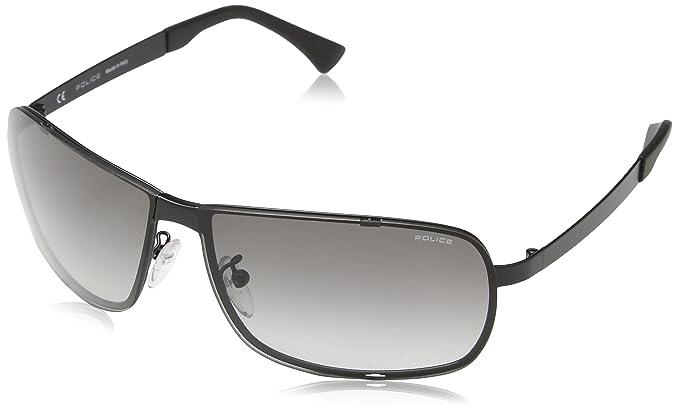 Police S8767 660531, Gafas de Sol para Hombre, Grey (Semi ...